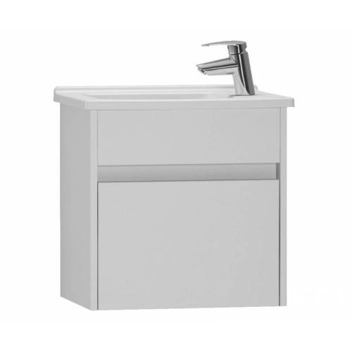 Vitra S50 White 50cm Wall Mounted Vanity Unit With Basin 53035