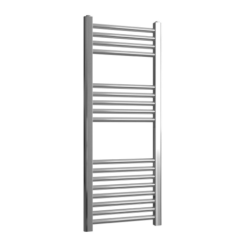 Loco Straight Ladder Rail Chrome 22mm - 400 x 1000mm
