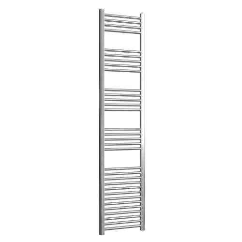 Loco Straight Ladder Rail Chrome 22mm - 400 x 1800mm