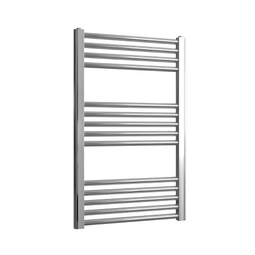 Loco Straight Ladder Rail Chrome 22mm - 500 x 800mm