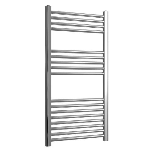 Loco Straight Ladder Rail Chrome 22mm - 500 x 1000mm