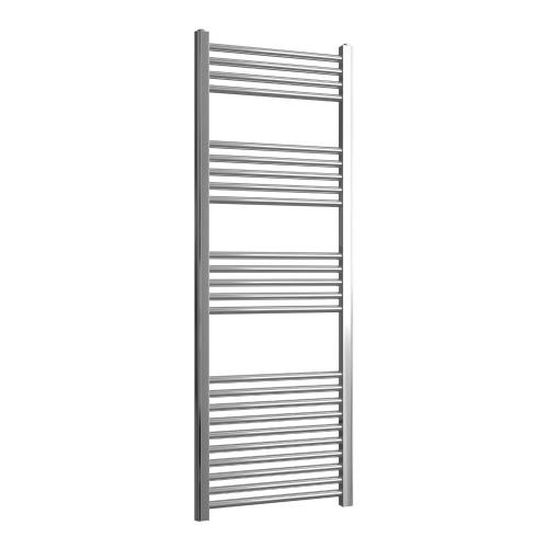 Loco Straight Ladder Rail Chrome 22mm - 500 x 1400mm