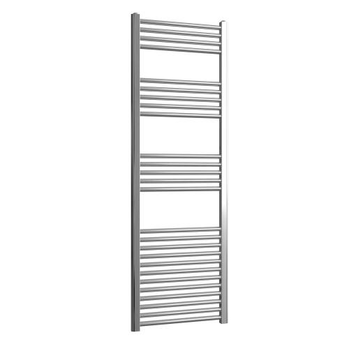 Loco Straight Ladder Rail Chrome 22mm - 500 x 1500mm