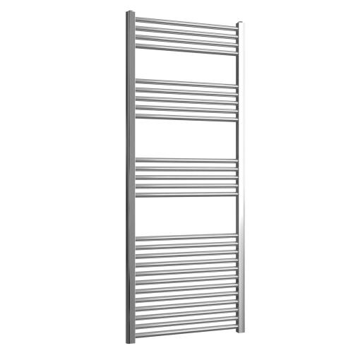 Loco Straight Ladder Rail Chrome 22mm - 600 x 1500mm
