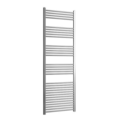 Loco Straight Ladder Rail Chrome 22mm - 600 x 1800mm