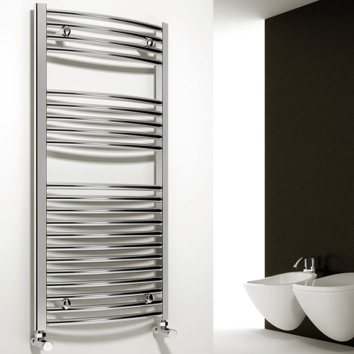 Reina Diva Straight Towel Rail Chrome - 500 x 1200mm