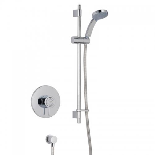 Mira Element Concealed Shower Mixer And Slider Rail Kit 1656.002