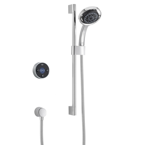 Mira Platinum Rear Fed Shower With Wireless Digital Control 1.1666.201 - Pumped For Gravity
