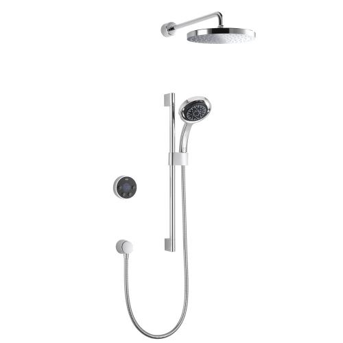 Mira Platinum Dual Rear Fed Wireless Digital Control Shower 1.1796.003 - High Pressure