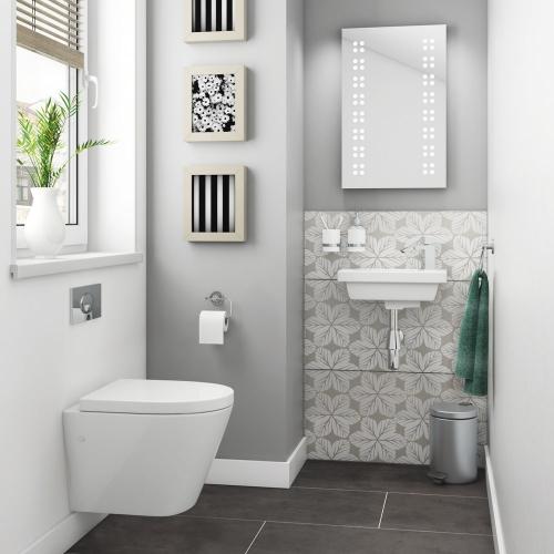 Rak Resort Wall Hung Bathroom Suite