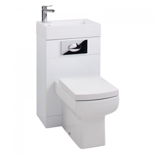Arley P3 Combination Back To Wall WC, Basin & Tap