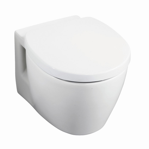 Ideal Standard Concept Space Compact Wall Hung Toilet Pan
