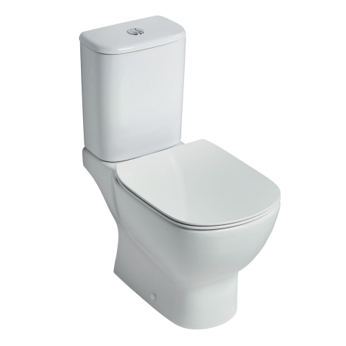 Ideal Standard Tesi Aquablade Close Coupled Full Access Toilet WC (Cistern 6/4 Litres)