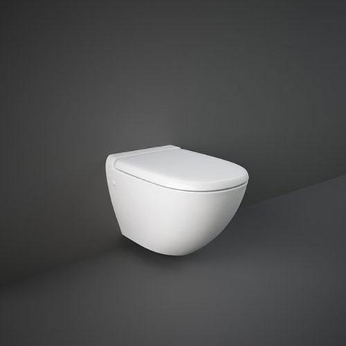 Rak Reserva Wall Hung Toilet Pan With Soft Close Seat