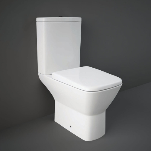 Rak Summit Close Coupled Toilet WC With Soft Close Seat