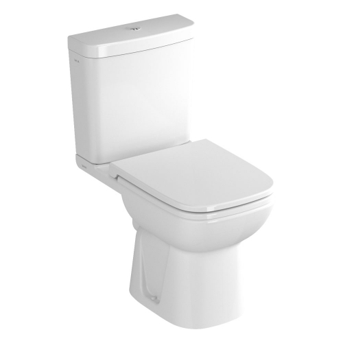 Vitra S20 Close Coupled Open Back Toilet WC