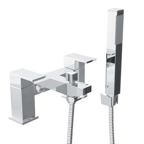 Isla Bath Shower Mixer with Shower Kit - By Voda Design