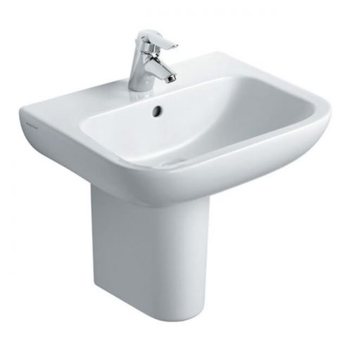 Armitage Shanks Portman 21 Washbasin 60cm 1 Taphole With Overflow With Half Pedestal
