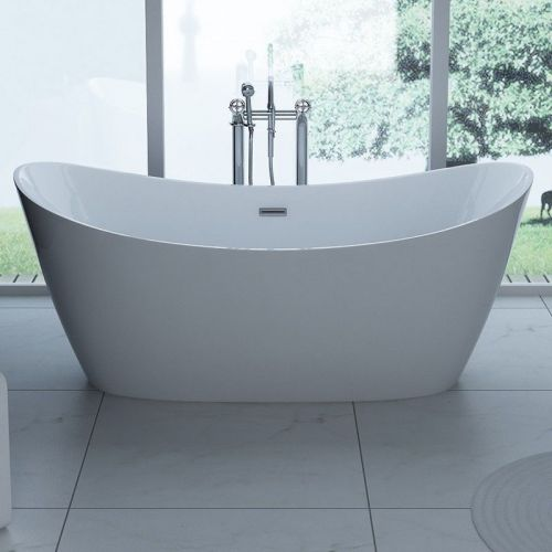 Modern Freestanding Double Ended Bath