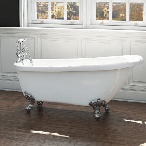 Synergy Brentwood Traditional Slipper Bath