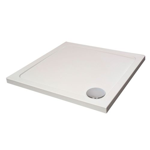 Hydro45 Square Shower Tray White