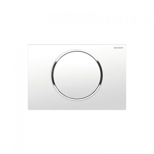 Geberit Sigma10 Flush Plate White Chrome - 115.758.KJ.5