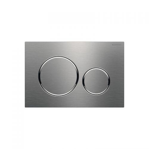 Geberit Sigma20 Dual Flush Plate Brushed Stainless Steel - 115.882.SN.1