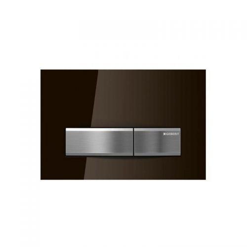 Geberit Sigma50 Dual Flush Plate Glass Umbra - 115.788.SQ.5
