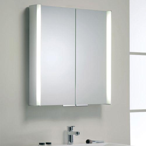 Synergy Soho Illuminated Mirror Cabinet 650 x 700mm