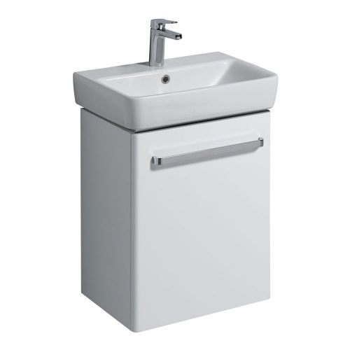 Twyford E200 White Vanity Unit & Wash Basin 550x370mm