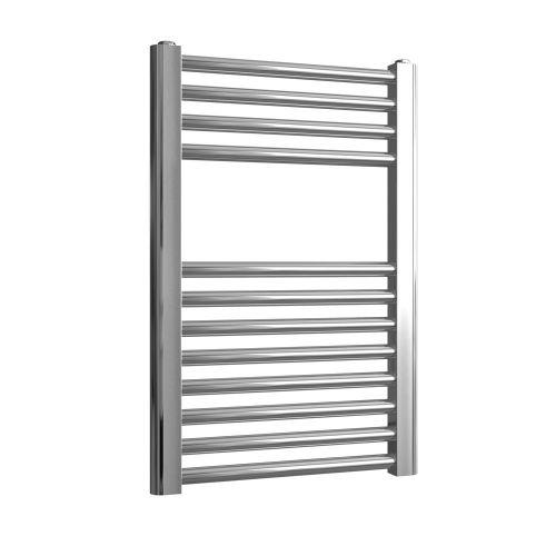 Loco Straight Ladder Rail Chrome 22mm - 400 x 600mm