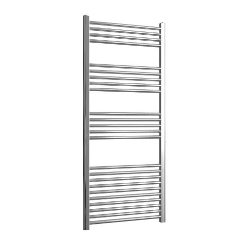 Loco Straight Ladder Rail Chrome 22mm - 600 x 1400mm