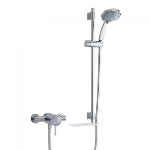 Mira Element Exposed Shower Mixer And Slider Rail Kit 1656.011