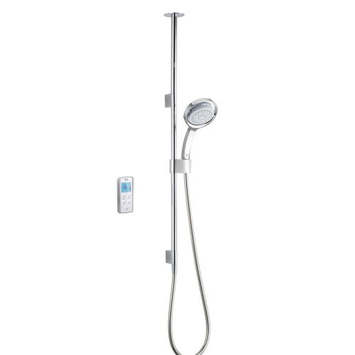 Mira Vision Ceiling Fed Shower With Wireless Digital Control 1.1797.002 -  Pumped For Gravity