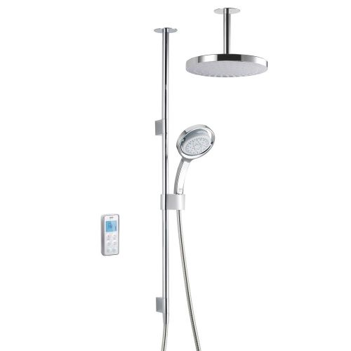 Mira Vision Dual Ceiling Fed Shower With Wireless Digital Control 1.1797.102 -  Pumped For Gravity