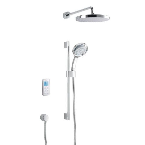 Mira Vision Dual Rear Fed Shower With Wireless Digital Control 1.1797.104 -  Pumped For Gravity