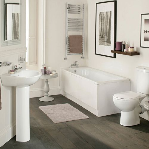 Value Complete Bathroom Suite with Standard Bath