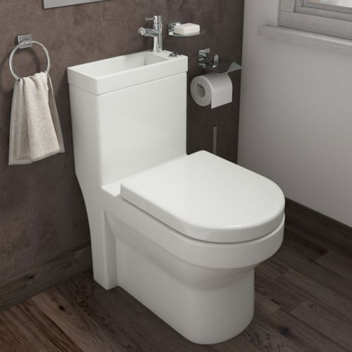 Arley P2 Integrated Toilet, Basin & Tap