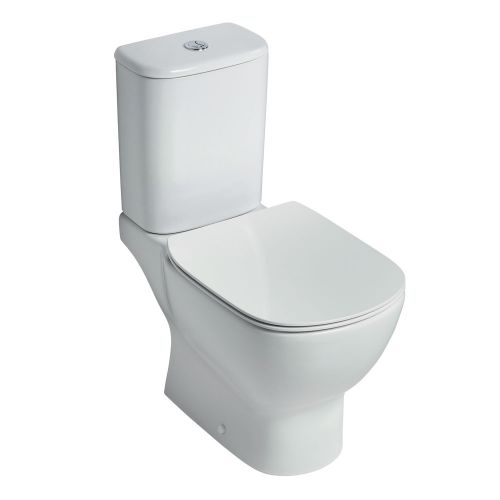 Ideal Standard Tesi Aquablade Close Coupled Full Access Toilet WC (Cistern 6/4 Litres)