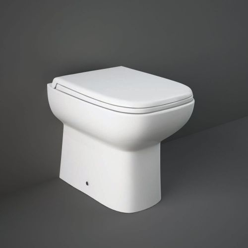 Rak Origin Back To Wall Toilet Pan With Soft Close Seat