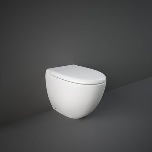 Rak Reserva Back To Wall Toilet Pan With Soft Close Seat