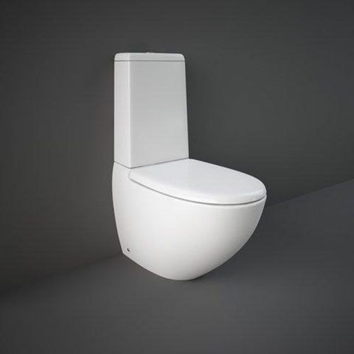 Rak Reserva Close Coupled Fully Back To Wall Toilet WC With Soft Close Seat