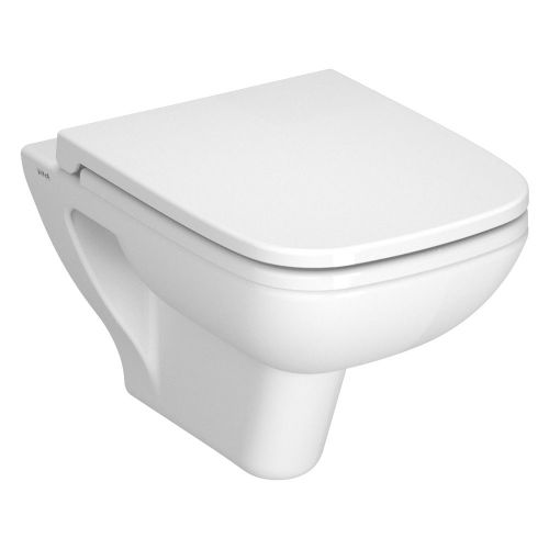 Vitra S20 Wall Hung Toilet WC & Seat 52cm