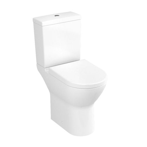 Vitra S50 Comfort Height Close Coupled Open Back Toilet WC